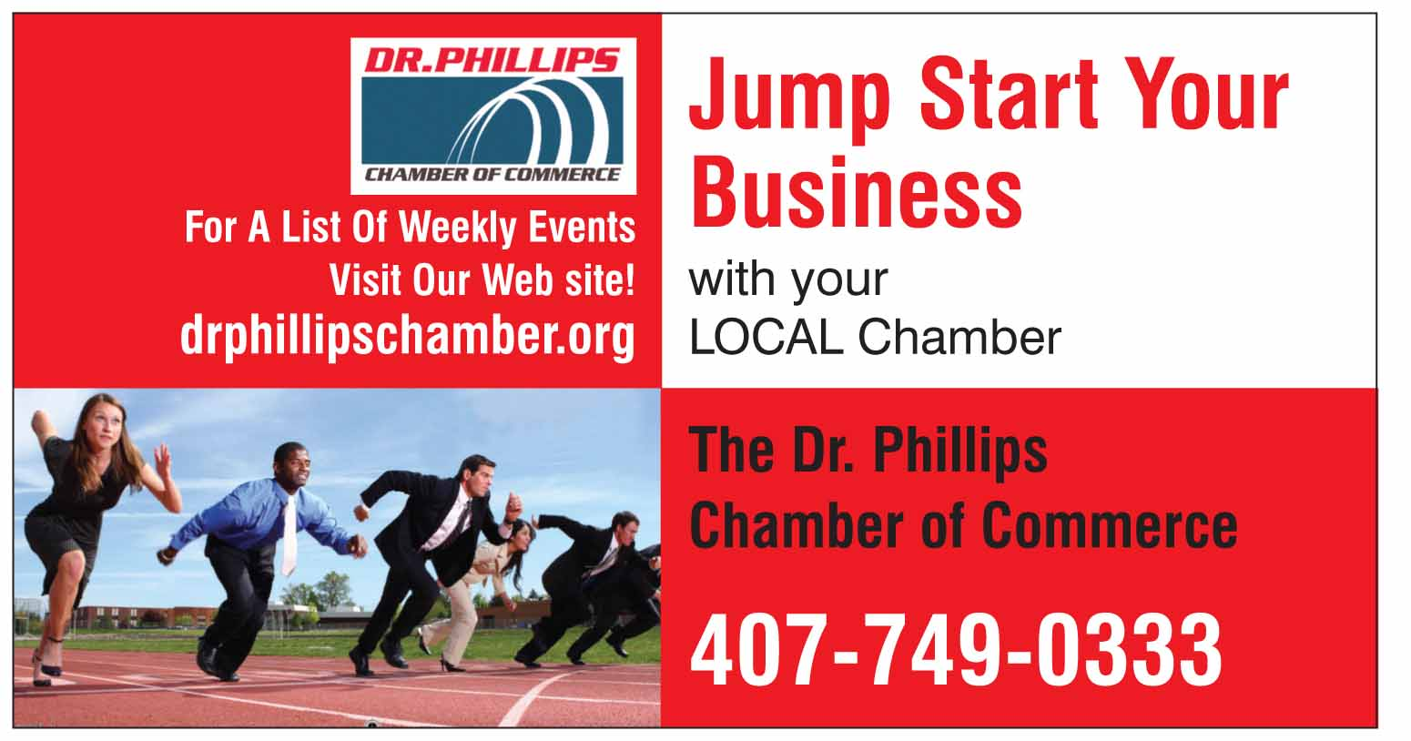 Dr Phillips Chamber of Commerce Weekly Leads Group meetings