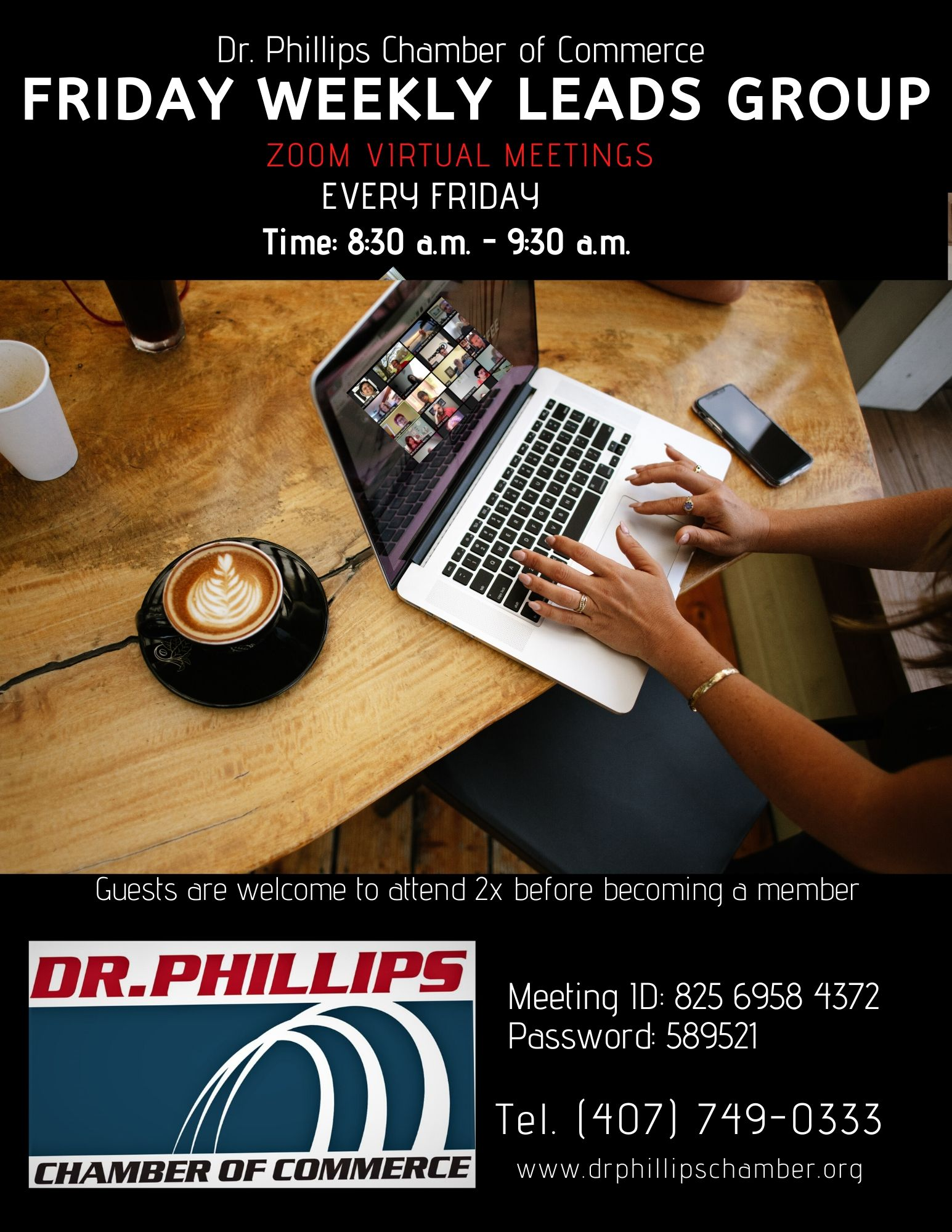 Dr. Phillips Friday weekly leads Group by Dr. Phillips Chamber of Commerce