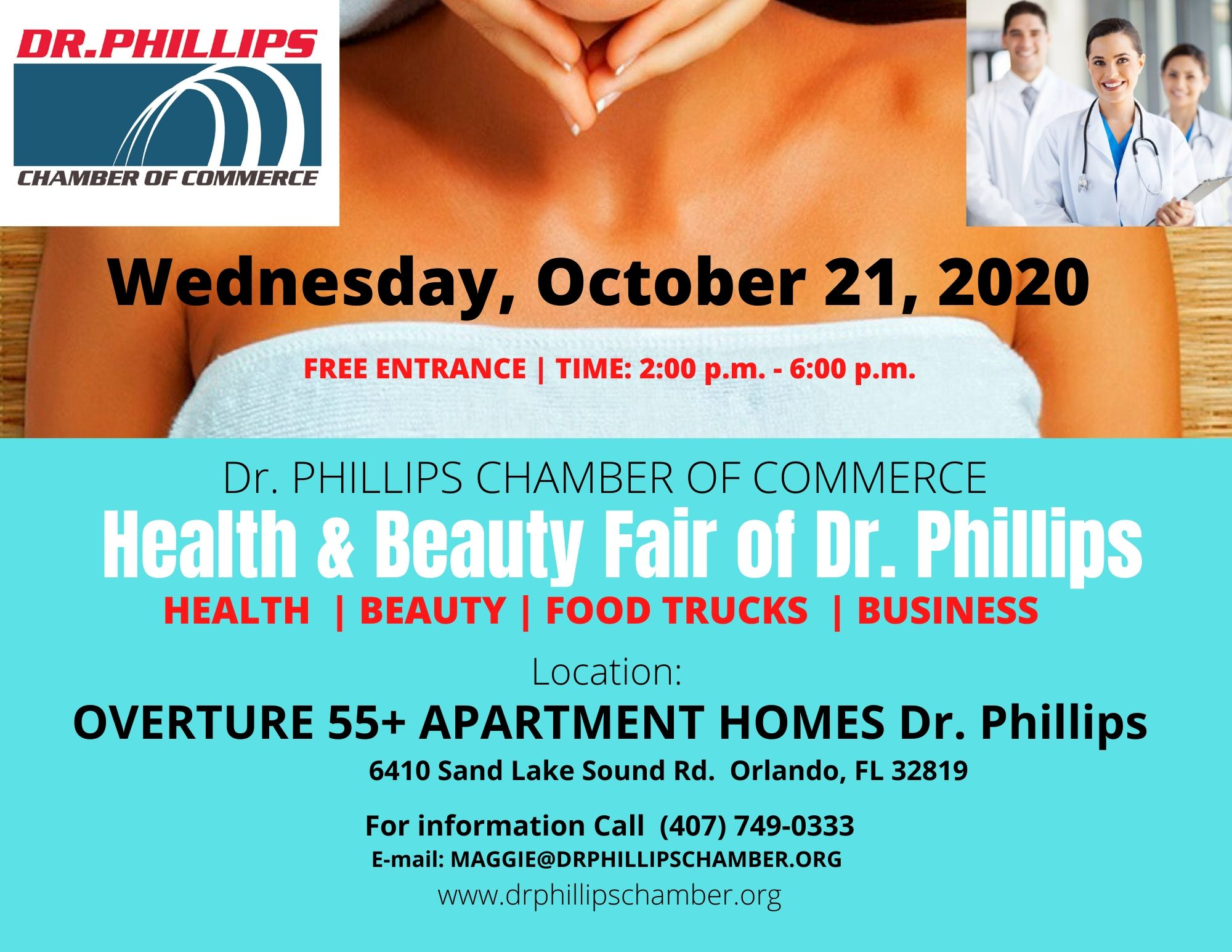 Dr. Phillips Orlando Chamber Health and Beauty Business FAIR