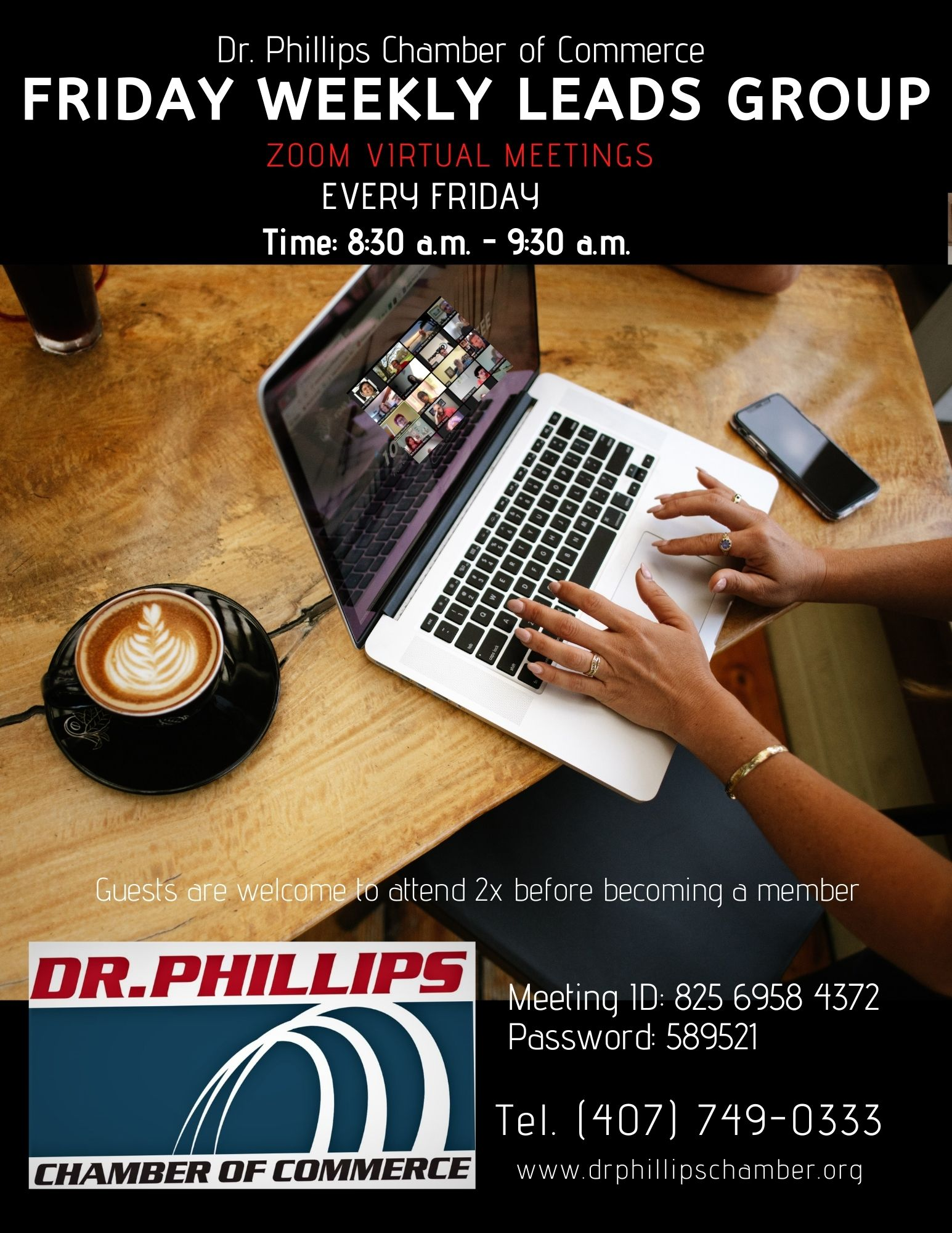 Dr. Phillips Chamber of Commerce Orlando Chamber of Commerce Networking Group